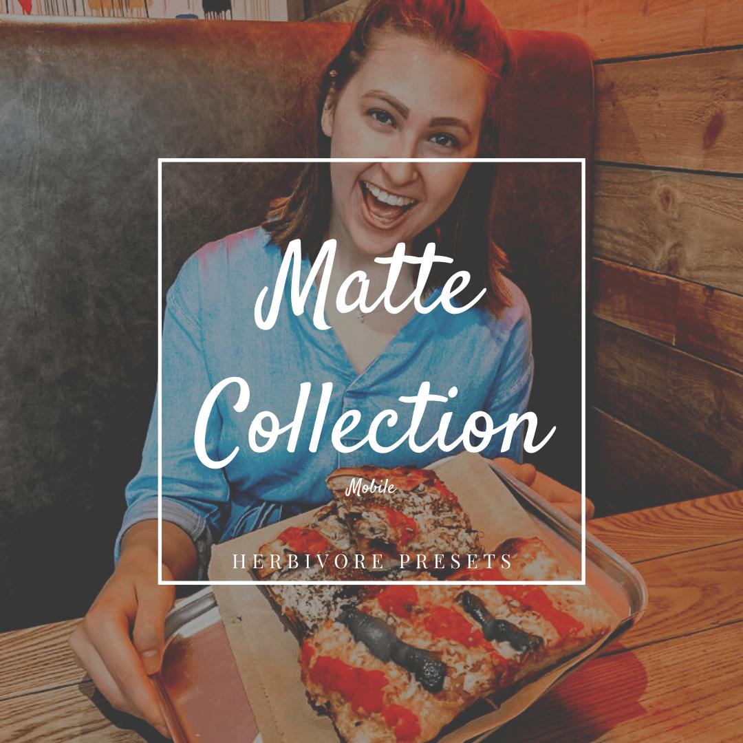 Matte Lightroom Presets - Mobile