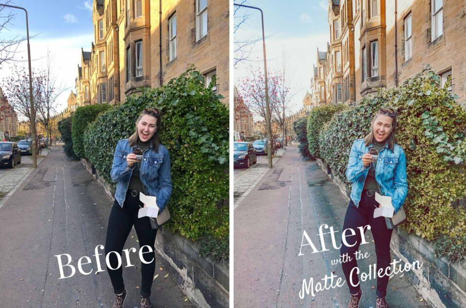 matte lightroom preset before and after 5